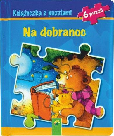 Książeczka z puzzlami - Na dobranoc