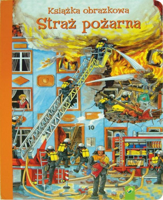 Książka logopedyczna - Straż pożarna