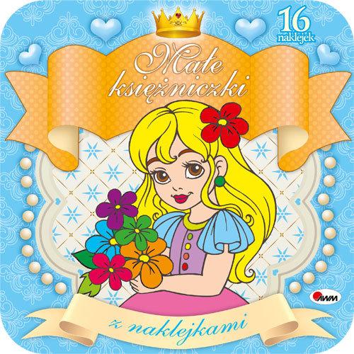 Małe księżniczki z naklejkami 2