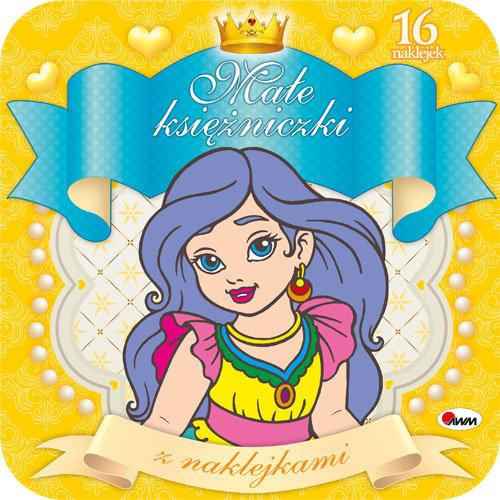 Małe księżniczki z naklejkami 3