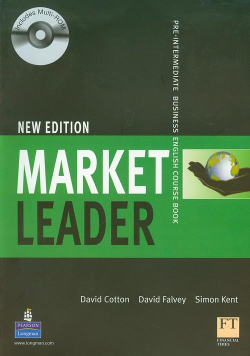 Market Leader Pre-Intermediate Business English Course Book + CD