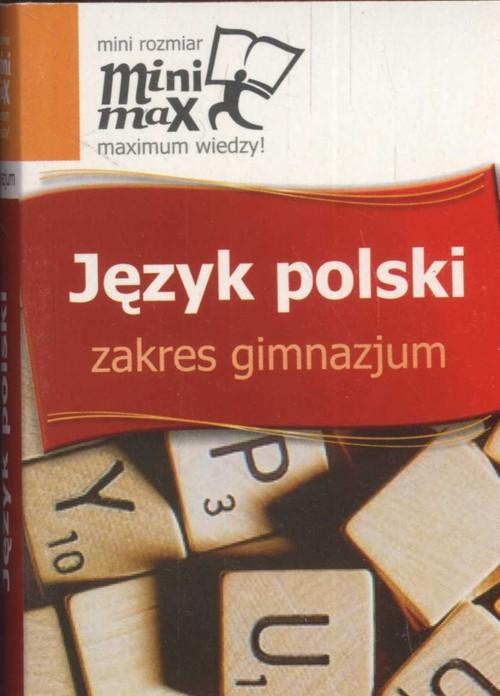 Minimax. Język polski. Zakres gimnazjum