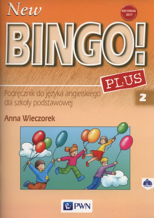 New Bingo! 2 Plus Podręcznik + CD