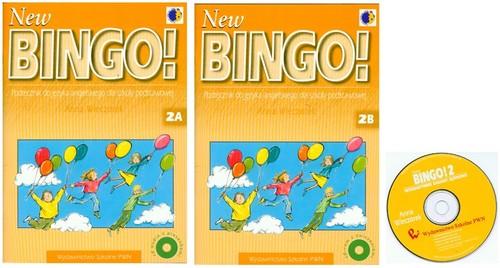 New Bingo! 2 Podręcznik Część A i B z płytą CD