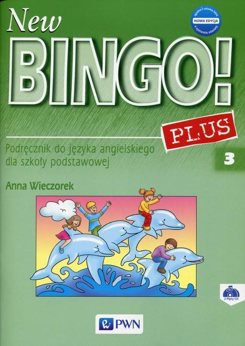 New Bingo! 3 Plus Nowa edycja Podręcznik + 2CD