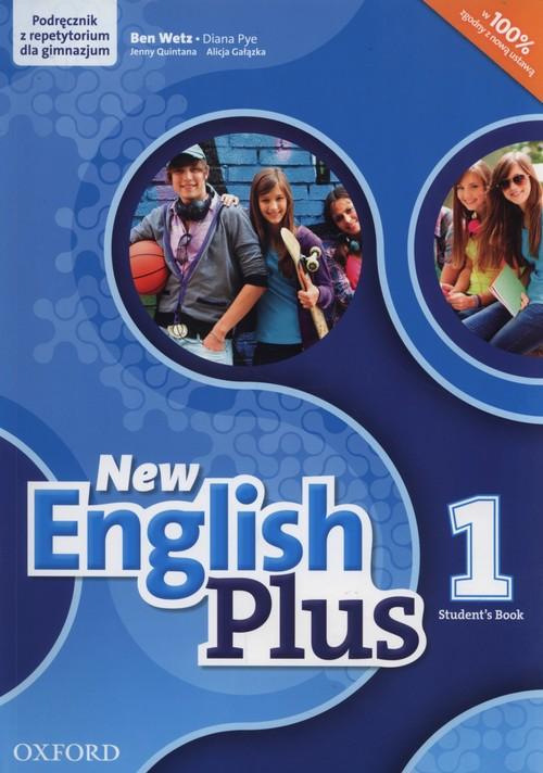 Jezyk angielski. New English Plus 1. Klasa 1-3. Podręcznik - gimnazjum