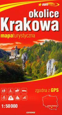 Okolice Krakowa mapa turystyczna 1:50 000