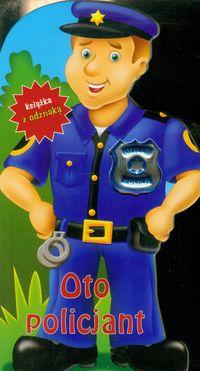 Oto policjant Książka z odznaką