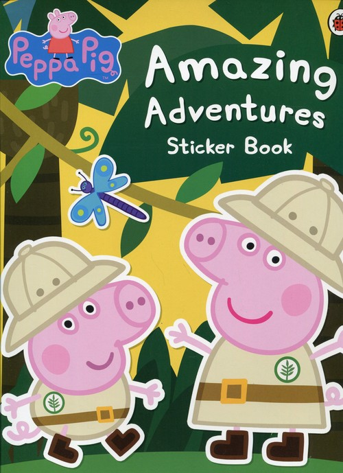 Peppa Pig Amazing Adventures Sticker Book