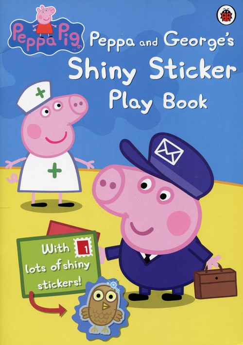 Peppa Pig Peppa and George's Shiny Sticker