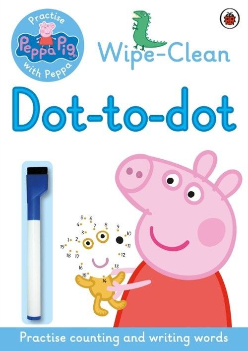 Peppa Wipe-clean Dot-to-Dot -