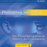 Phonothek interaktiv. Das Phonetikprogramm fur Deutsch als Fremdsprache. Płyta CD-ROM