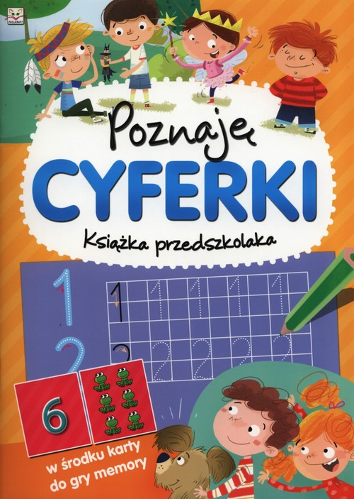Poznaję cyferki Książka przedszkolaka