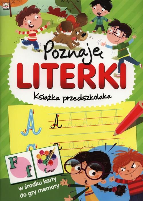 Poznaję literki Książka przedszkolaka