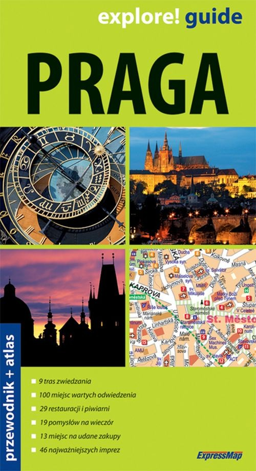 Praga 2w1 przewodnik + atlas