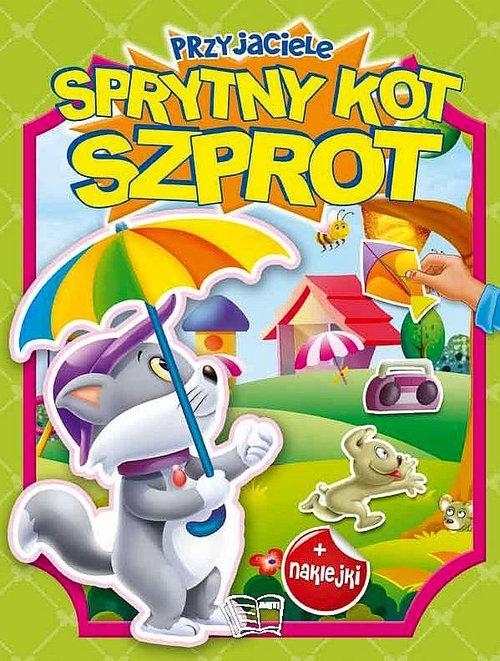 Przyjaciele sprytny kot Szprot