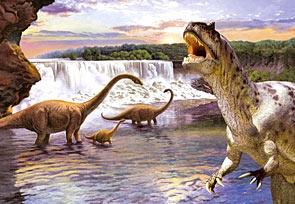 Puzzle 260 Diplodocus
