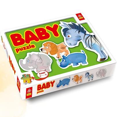 Puzzle Baby. Zwierzątka afrykańskie