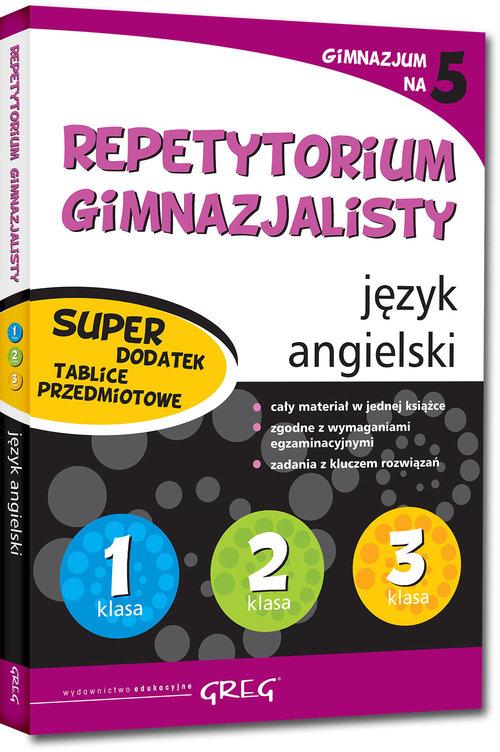 Repetytorium gimnazjalisty - język angielski