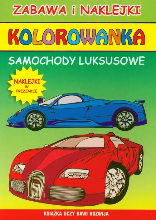 Samochody luksusowe Kolorowanka