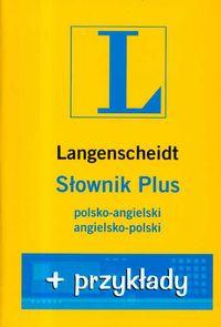 Słownik PLUS polsko-angielski angielsko-polski + przykłady