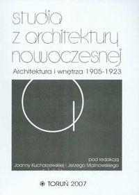 Studia z architektury nowoczesnej