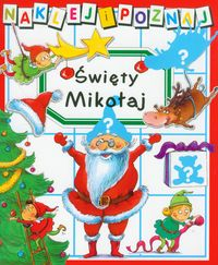 Święty Mikołaj Naklej i poznaj