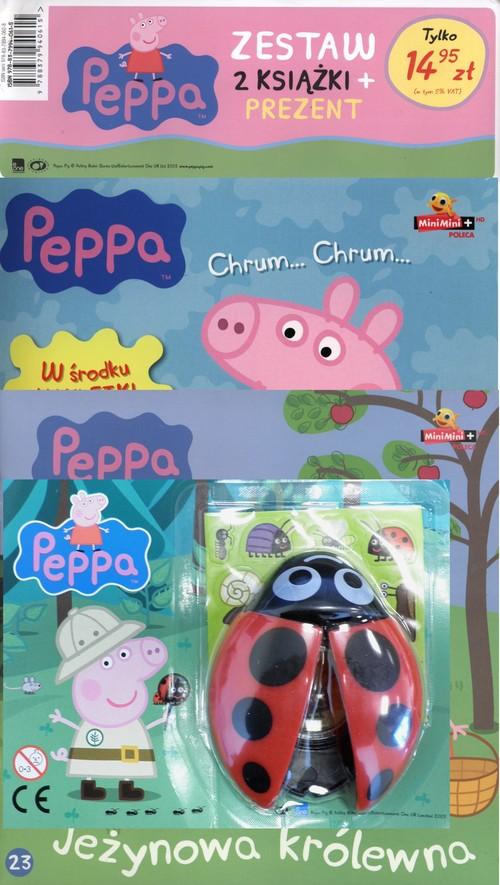 Świnka Peppa 2 Dzień w parku /Jeżynowa królewna + Biedronka z lupą