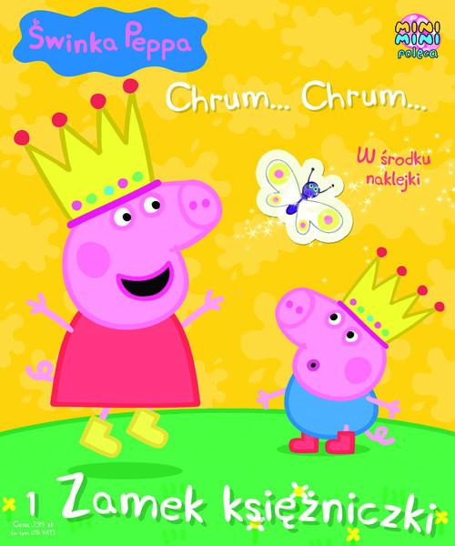 Świnka Peppa Chrum Chrum 1 Zamek księżniczki -