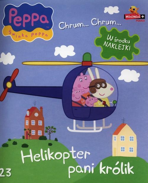 Świnka Peppa Chrum Chrum 23 Helikopter pani Królik -