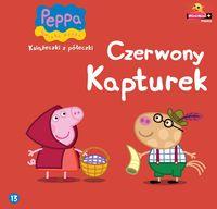 Świnka Peppa Książeczki z półeczki 13 Czerwony Kapturek