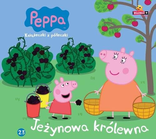 Świnka Peppa Książeczki z półeczki 23 Jeżynowa królewna
