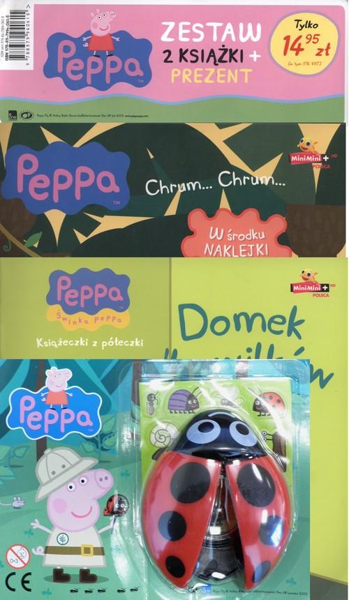 Świnka Peppa Niesamowite podróże / Domek dla wilków + Biedronka z lupą