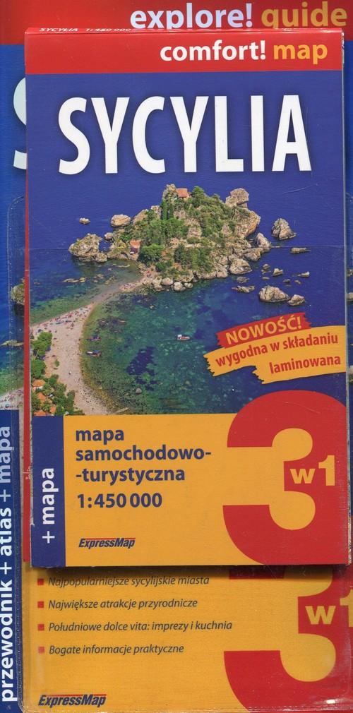 Explore! guide. Sycylia 3w1. Przewodnik + atlas + mapa