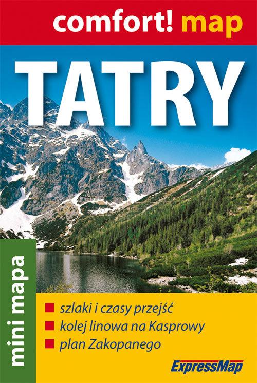 Tatry mini mapa 1:80 000