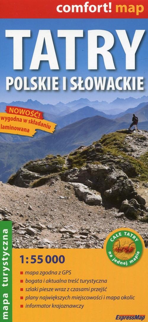 Tatry Polskie i Słowackie 1:55 000