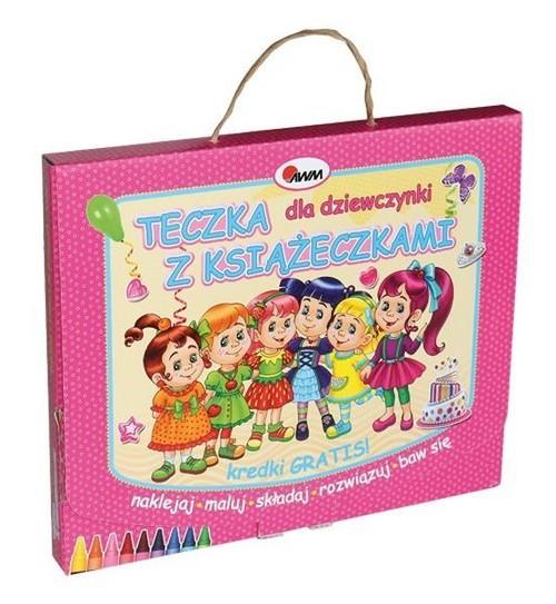 Teczka dla dziewczynki z książeczkami