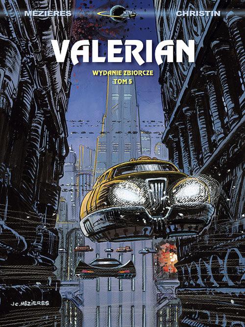 Valerian wydanie zbiorcze Tom 5 - Mezieres Jean-Claude, Christin Pierre