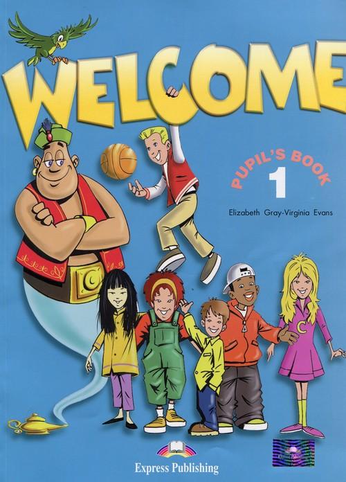 Język angielski. Welcome 1. Pupil's Book. Klasa 1. Podręcznik - szkoła podstawowa