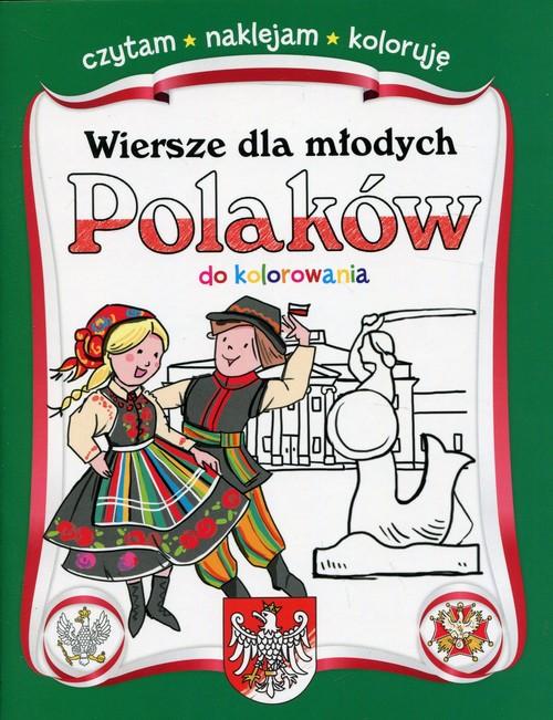 Wiersze dla młodych Polaków do kolorowania -
