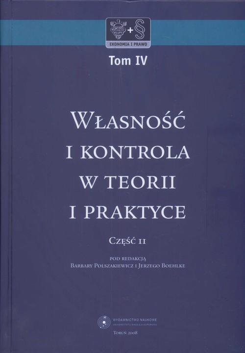 Własność i kontrola w teorii i praktyce 2