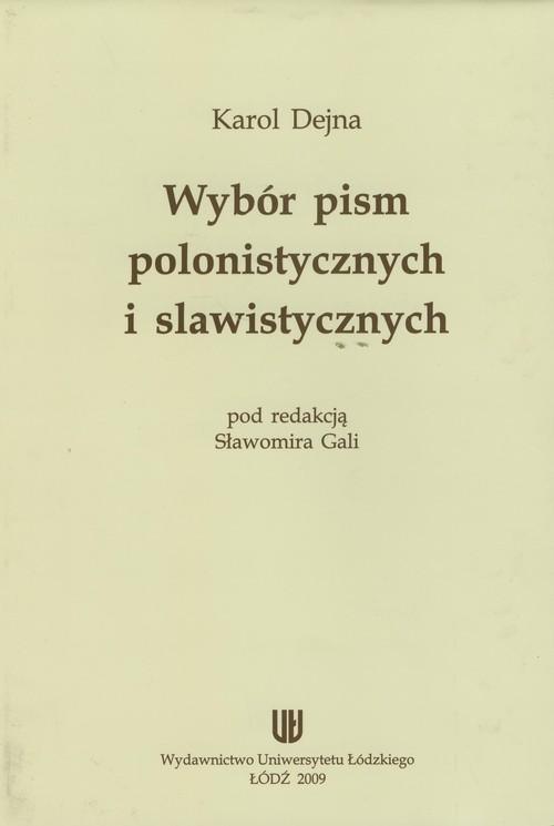 Wybór pism polonistycznych i slawistycznych