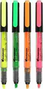 Zakreślacz Art-line control Mix kolorów. Display 12 sztuk